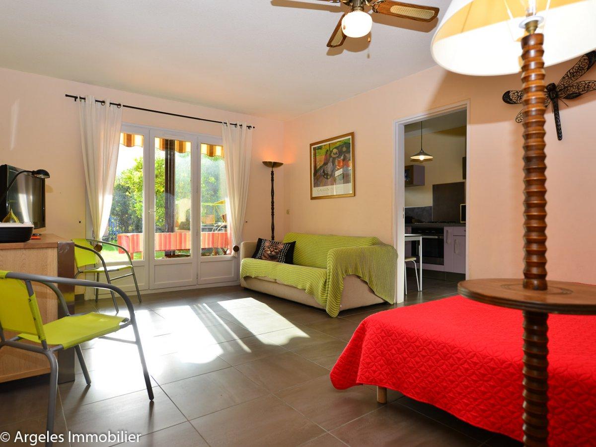 Vente achat appartement 2 pieces avec jardin a vendre a for Achat appartement avec jardin